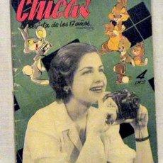 Coleccionismo de Revistas y Periódicos: REVISTA CHICAS Nº 93 6 ABRIL 1952 LA REVISTA DE LOS 17 AÑOS. Lote 1280575