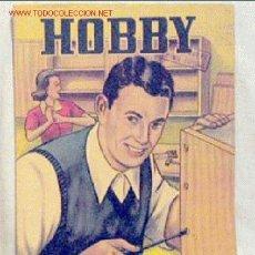 Coleccionismo de Revistas y Periódicos: HOBBY REVISTA ARGENTINA Nº 188 ABRIL 1952. Lote 1283895