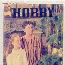Coleccionismo de Revistas y Periódicos: HOBBY REVISTA ARGENTINA Nº 208 DICIEMBRE 1953. Lote 1290745