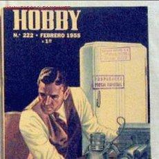 Coleccionismo de Revistas y Periódicos: HOBBY REVISTA ARGENTINA Nº 222 FEBRERO 1955. Lote 1290805