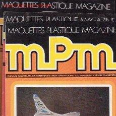 Coleccionismo de Revistas y Periódicos: MPM -- LOTE DE 4 REVISTAS / REVISTAS DE MODELISMO EN FRANCES. Lote 14191150