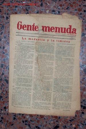 GENTE MENUDA Nº 6 SUPLEMENTO INFANTIL DE LAS PROVINCIAS (VALENCIA) -- 16 JUNIO 1928 - 8 PÁGINAS (Coleccionismo - Revistas y Periódicos Antiguos (hasta 1.939))