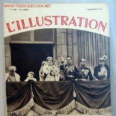 Coleccionismo de Revistas y Periódicos: L ILLUSTRATION DICIEMBRE 1934 LA DUCHESSE ET LE DUC DE KENT AU PALAIS DE BUCKINGHAM REVISTA FRANCESA. Lote 1596471