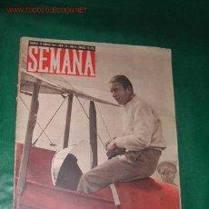 Coleccionismo de Revistas y Periódicos: REVISTA SEMANA AÑO II N.77, 12 AGOSTO 1941. Lote 8596156