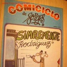 Coleccionismo de Revistas y Periódicos: REVISTA -COMICICLO- DE FORGES Nº 7. AÑO 1974.. Lote 1669535