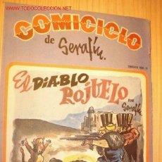 Coleccionismo de Revistas y Periódicos: REVISTA -COMICICLO- DE SERAFÍN Nº 25. AÑO 1974.. Lote 1669564