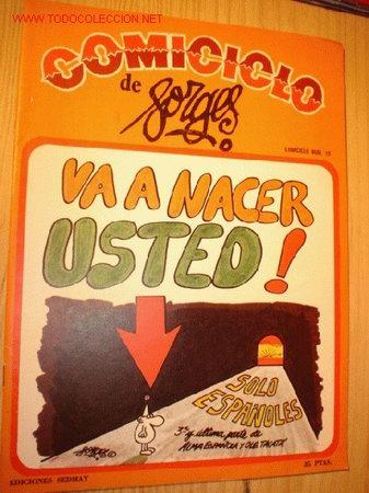 REVISTA -COMICICLO- DE FORGES Nº 19 AÑO 1974. (Coleccionismo - Revistas y Periódicos Modernos (a partir de 1.940) - Otros)