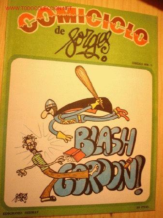REVISTA -COMICICLO- DE FORGES Nº 11. AÑO 1974. (Coleccionismo - Revistas y Periódicos Modernos (a partir de 1.940) - Otros)