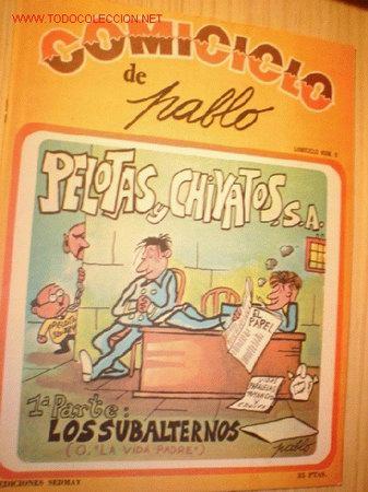 REVISTA -COMICICLO- DE PABLO Nº 9. AÑO 1974. (Coleccionismo - Revistas y Periódicos Modernos (a partir de 1.940) - Otros)