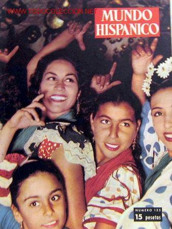 MUNDO HISPANICO Nº 125 AGOSTO 1958 PALAFOX EN ZARAGOZA Y OTROS REPORTAJES PUBLICIDAD ÉPOCA (Coleccionismo - Revistas y Periódicos Modernos (a partir de 1.940) - Otros)