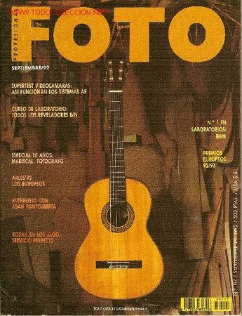 REVISTA 'FOTO PROFESIONAL', Nº 117. SEPTIEMBRE 1992. (Coleccionismo - Revistas y Periódicos Modernos (a partir de 1.940) - Otros)