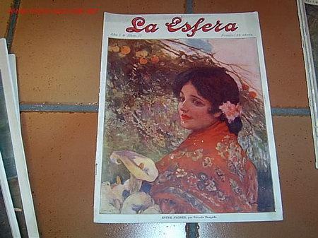 REVISTA LA ESFERA - NUMERO 17 25 ABRIL 1914 - PRIMERA GUERRA MUNDIAL (Coleccionismo - Revistas y Periódicos Antiguos (hasta 1.939))