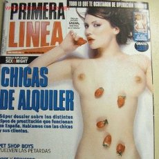 Coleccionismo de Revistas y Periódicos: REVISTA PRIMERA LINEA Nº 204. ABRIL 2002. CHICAS DE ALQUILER.. Lote 2479331