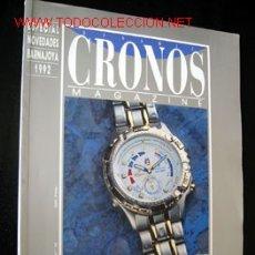 Coleccionismo de Revistas y Periódicos: CRONOS MAGAZINE - ESPECIAL NOVEDADES BARNAJOYA 1992. Lote 13781509