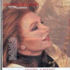 Coleccionismo de Revistas y Periódicos: ROCÍO JURADO. WHOPPI GOLDBERG. JOHN TRAVOLTA. VERONICA BLUME. TASLIMA NASRIN. TAHURES ZURDOS. Lote 9087493