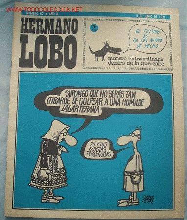 HERMANO LOBO (Coleccionismo - Revistas y Periódicos Modernos (a partir de 1.940) - Otros)