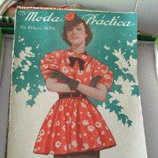 Coleccionismo de Revistas y Periódicos: REVISTA MODA PRACTICA 20 DE MAYO DE 1936. Lote 26326110