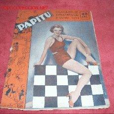 Coleccionismo de Revistas y Periódicos: PAPITU 1933. Lote 24683760
