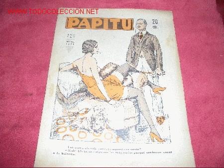 PAPITU-1933 (Coleccionismo - Revistas y Periódicos Antiguos (hasta 1.939))
