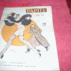Coleccionismo de Revistas y Periódicos: PAPITU . Lote 24711577