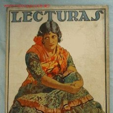 Coleccionismo de Revistas y Periódicos: LECTURAS. SUPLEMENTO LITERARIO DE EL HOGAR Y LA MODA. AGOSTO 1924. Nº 39. . Lote 17976003