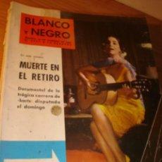 Coleccionismo de Revistas y Periódicos: REVISTA BLANCO Y NEGRO Nº 2597 10 FEBRERO 1962 PORTADA NATI MISTRAL.. Lote 3049861
