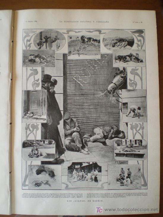 Coleccionismo de Revistas y Periódicos: LOS GOLFOS DE MADRID - Foto 6 - 145821124
