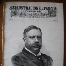 Coleccionismo de Revistas y Periódicos: ILUSTRACION ESPAÑOLA/AMERICANA (22/07/05) FERNANDEZ VILLAVERDE SUBMARINO NAUFRAGIO JARDIN BOTANICO . Lote 25663353