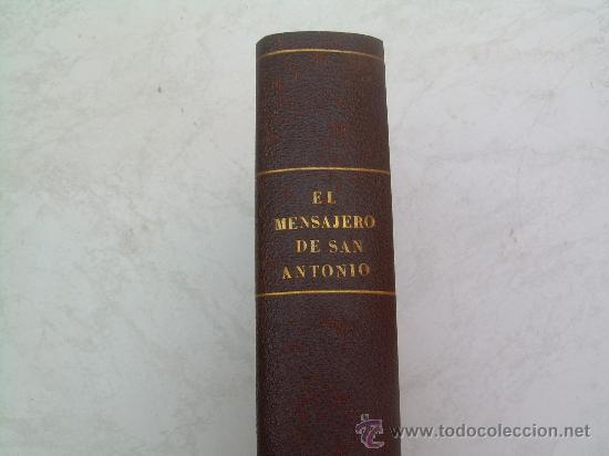 Coleccionismo de Revistas y Periódicos: EL MENSAJERO DE SAN ANTONIO DE PADUA - AÑOS 1968 Y 1969 COMPLETOS - EN UN TOMO ENCUADERNADO EN TELA - Foto 2 - 26892228