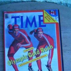 Coleccionismo de Revistas y Periódicos: REVISTA INTERNATIONAL TIME FEBRUARY 11-1980. Lote 10027645