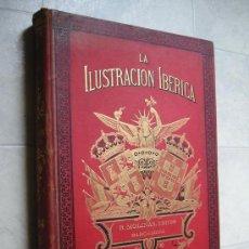 Coleccionismo de Revistas y Periódicos: LA ILUSTRACION IBERICA, 1884, AÑO COMPLETO.. Lote 26560839