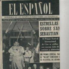 Coleccionismo de Revistas y Periódicos: 1954 SANCHEZ CAMARGO POLLENSA PALMA ANDRATX PRIMER FESTIVAL DE CINE EN SAN SEBASTIAN. Lote 10051044