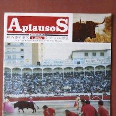 Coleccionismo de Revistas y Periódicos: APLAUSOS. SEMANARIO TAURINO.. Lote 10060519