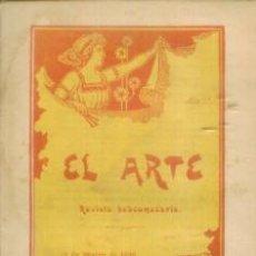 Coleccionismo de Revistas y Periódicos: EL ARTE REVISTA HEBDOMADARIA NUM 11 MARZO 1899 - PORTADA ART DECO EL CONGRESO DE VERSALLES. Lote 10089148