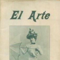 Coleccionismo de Revistas y Periódicos: EL ARTE REVISTA HEBDOMADARIA NUM 25 JUNIO 1899 - PORTADA TIPLE SRTA MEGARD EQUIPOS CICLISTAS. Lote 10089189