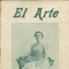 Coleccionismo de Revistas y Periódicos: EL ARTE REVISTA HEBDOMADARIA NUM 35 SEPTIEMBRE 1899 - PORTADA MLLE. ACHTE EN LA PLAYA. Lote 10089206