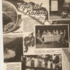 Coleccionismo de Revistas y Periódicos: AÑO 1933 MARIPOSAS VALLE DEL BAZTAN NAVARRA ESCUELA ENFERMERIA PERLAS ARTIFICIALES HALL TIROL. Lote 10121952