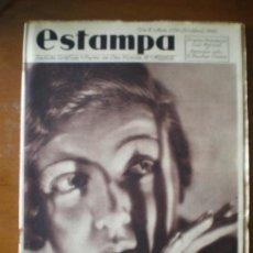 Coleccionismo de Revistas y Periódicos: ESTAMPA Nº 379 (20/04/35) NAVARRA AGOTES OBESOS TOREROS EXTREMADURA CASTILLO MISS LOTI BAZTAN . Lote 24485273