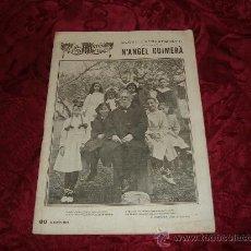 Coleccionismo de Revistas y Periódicos: SEGON EXTRAORDINARI DEDICAT A N ANGEL GUIMERA,LA ESCENA CATALANA,1924. Lote 10148075