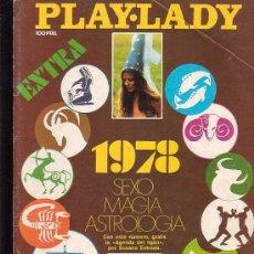 Coleccionismo de Revistas y Periódicos - PLAY LADY EXTRA - 1978 SEXO MAGIA ASTROLOGIA ( REVISTA EROTICA DE LOS 70) - 10158132