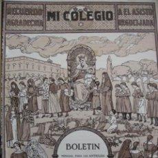 Coleccionismo de Revistas y Periódicos: MI COLEGIO.CARMELITAS DE LA CARIDAD.JUNIO 1923.Nº48.VALENCIA.MANRESA.VILLAFRANCA DE LOS BARROS. Lote 17596899