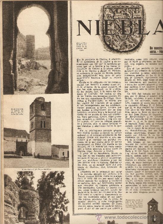 AÑO 1934 ALELLA EL OBSERVATORIO FABRA HUELVA NIEBLA GOLFO DE GUINEA ESPAÑOLA BAILE EL ONE STEP (Coleccionismo - Revistas y Periódicos Antiguos (hasta 1.939))