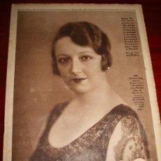 Coleccionismo de Revistas y Periódicos: CRÓNICA - 23 SEPTIEMBRE 1934 - PEPITA MELIÁ, HITLER ENAMORADO, LOS CLUBS CASTELLANOS DE FUTBOL,.... Lote 11891910