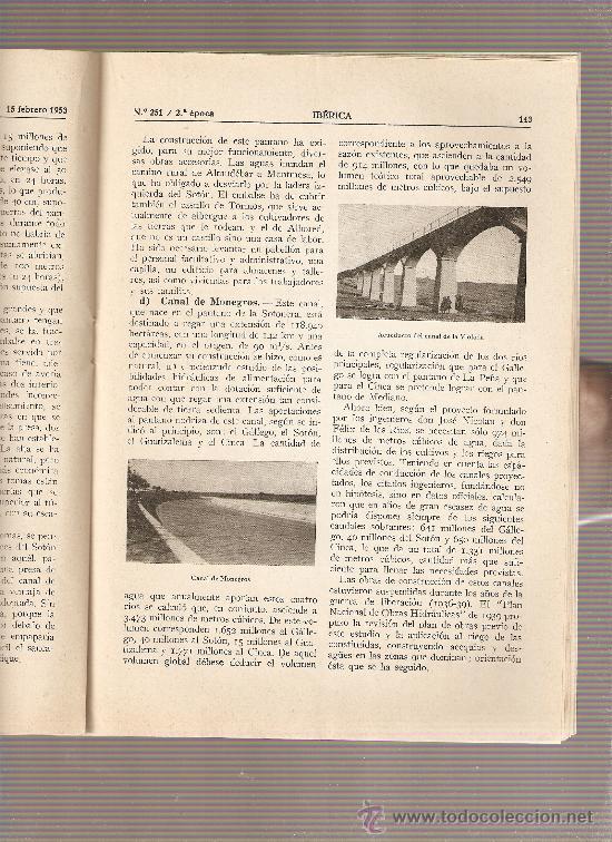 Coleccionismo de Revistas y Periódicos: AÑO1953 ENASA CAMIONES ZARAGOZA HUESCA PANTANO DE ARDISA LA SOTONERA CANAL DE VIOLADA CANAL MONEGROS - Foto 2 - 10336596