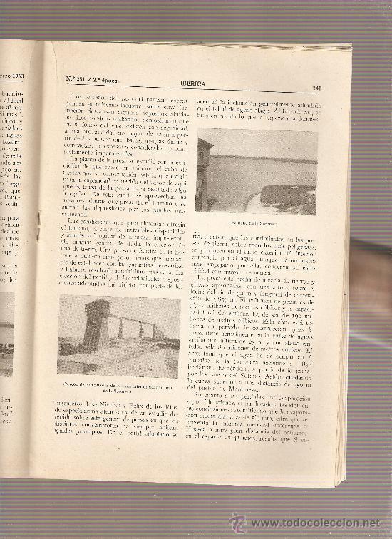 Coleccionismo de Revistas y Periódicos: AÑO1953 ENASA CAMIONES ZARAGOZA HUESCA PANTANO DE ARDISA LA SOTONERA CANAL DE VIOLADA CANAL MONEGROS - Foto 3 - 10336596