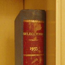 Coleccionismo de Revistas y Periódicos: SELECCIONES DEL READER'S DIGEST. AGOSTO-SEPTIEMBRE-JUNIO-JULIO 1955. ENCUADRENADAS EN UN TOMO. Lote 23331950