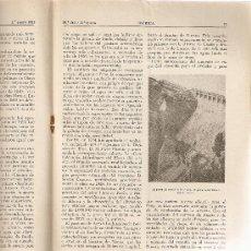 Coleccionismo de Revistas y Periódicos: REVISTA IBERICA 248.AÑO 1953.EL PANTANO DE ARGUIS.ARGUIS.. Lote 10379026