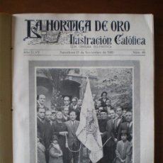 Collezionismo di Riviste e Giornali: LA HORMIGA DE ORO Nº 46 (13/11/30) SABADELL PARTHENON FONT-ROMEU IBI ABISINIA GETAFE PALMERAS ARRATE. Lote 272377188