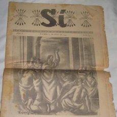 Coleccionismo de Revistas y Periódicos: SÍ, SUPLEMENTO DEL DIARIO ARRIBA, Nº 82. Lote 22282823