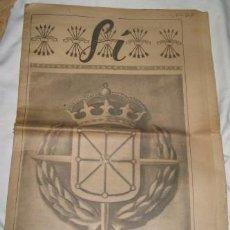 Coleccionismo de Revistas y Periódicos: SÍ, SUPLEMENTO DEL DIARIO ARRIBA, Nº 27. Lote 22282825
